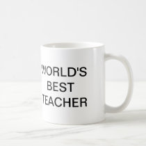 The Office, World's Best Teacher Coffee Mug