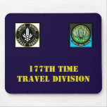 The OFFICIAL 177th Time Travel Division mouse pad