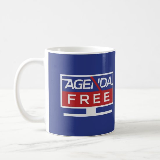 The OFFICIAL Agenda-Free TV Coffee Mug