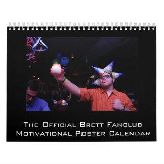 The Official Brett Fanclub of America Calendar