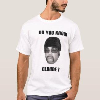 The official Claude Bonnet t-shirt