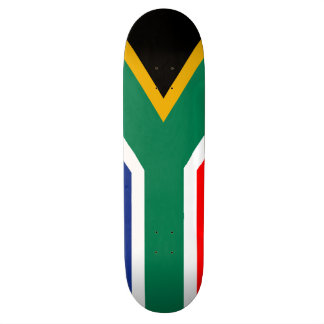 The Official Flag of the Republic of South Africa Skateboard Deck