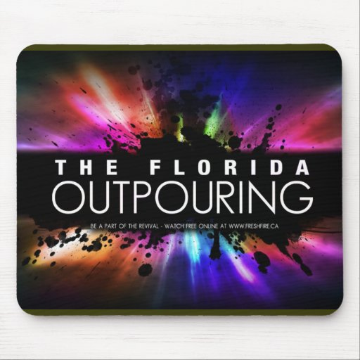 The Official Florida Outpouring Computer Mouse Pad