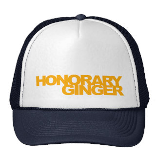 The Official Honorary Ginger Trucker Hat