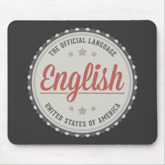 The Official Language Mouse Pad