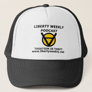 The Official Liberty Weekly Taxation is Theft Hat