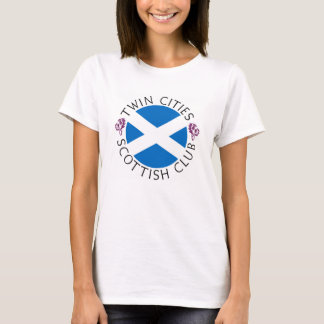 The official logo of the Twin Cities Scottish Club T-Shirt