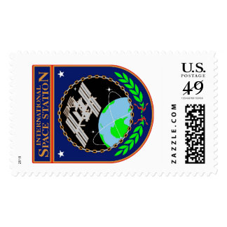 The Official NASA ISS Program Logo! Postage