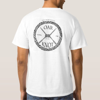 """The official """"Oar Knot Cruising Club"""" Tee"""