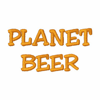 """The """"Official"""" Planet Beer Polo Shirt"""