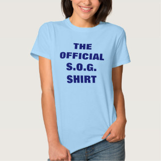 THE OFFICIAL S.O.G. SHIRT