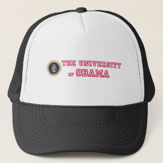 The Official The University of Obama Trucker Hat