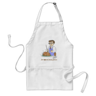 The Official Turkey Carver Adult Apron