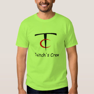 """The """"Official"""" Twitch's Crew T-shirt"""
