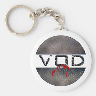 The Official VOD Key Chain (blood)