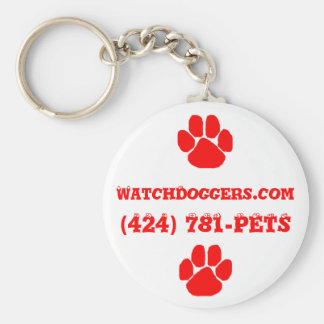 The Official WatchDoggers! Keychain