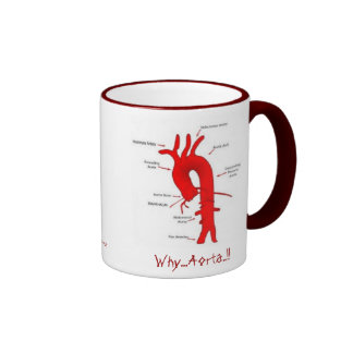 The Official  Why..Aorta....!!  Coffee Mug