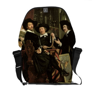 The Officials of the Company of Bowyers of St. Seb Courier Bag