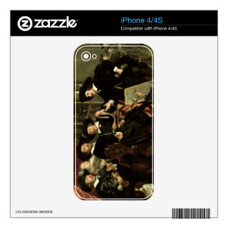 The Officials of the Company of Bowyers of St. Seb Skins For The iPhone 4S