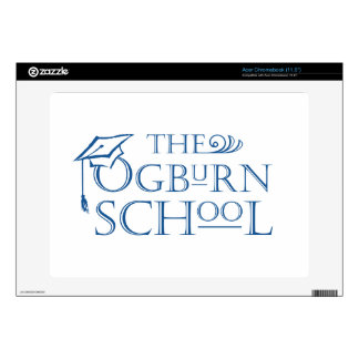 "The Ogburn School Acer Chromebook (11.6"") Case Acer Chromebook Skins"