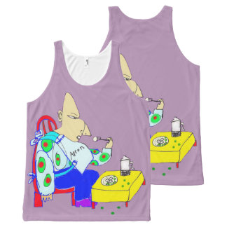 The Ogre Eats His Peas And Potatoes All-Over-Print Tank Top