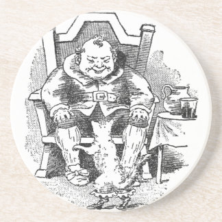 The Ogre Receives Puss in Boots Beverage Coasters