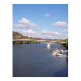 The Ohio Bridge Postcard