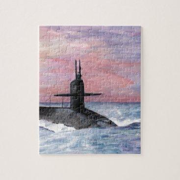 The Ohio Class Submarine Jigsaw Puzzle