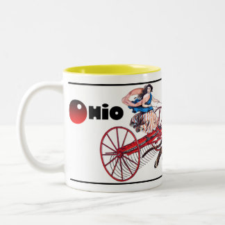 The Ohio Haymaker Two-Tone Coffee Mug
