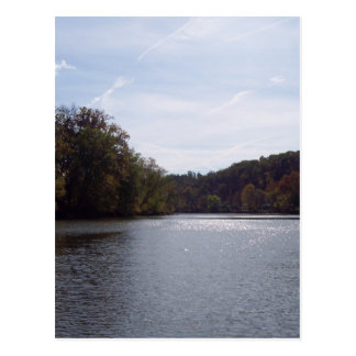 The Ohio River Postcard