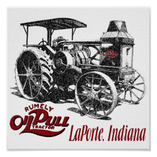The OilPull Tractor Poster