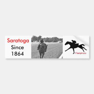 The Oklahoma Training Track at Saratoga Car Bumper Sticker