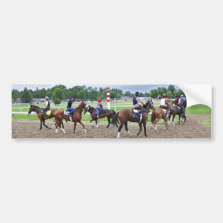 The Oklahoma Training Track at Saratoga Bumper Sticker
