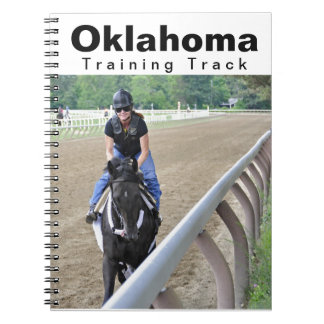 The Oklahoma Training Track at Saratoga Spiral Note Book