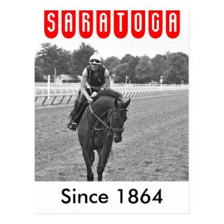 The Oklahoma Training Track at Saratoga Postcard