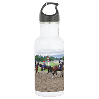 The Oklahoma Training Track at Saratoga Stainless Steel Water Bottle