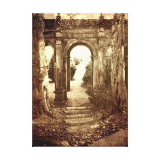 The Old Archway #2 (Shabby Vintage style) Canvas Print