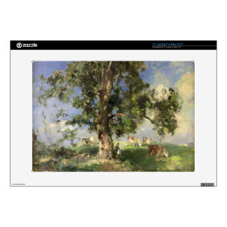 "The Old Ash Tree (oil on canvas) 15"" Laptop Decal"