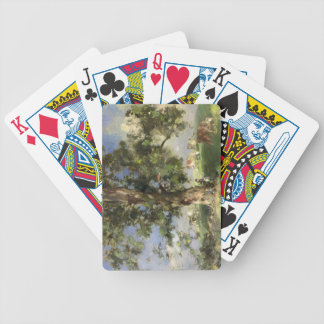 The Old Ash Tree (oil on canvas) Bicycle Playing Cards