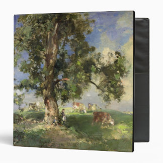 The Old Ash Tree (oil on canvas) Binder