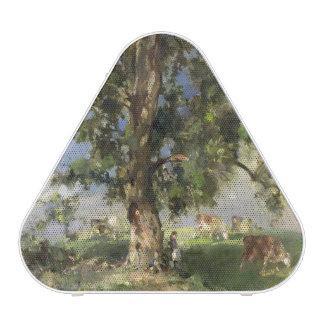 The Old Ash Tree (oil on canvas) Bluetooth Speaker