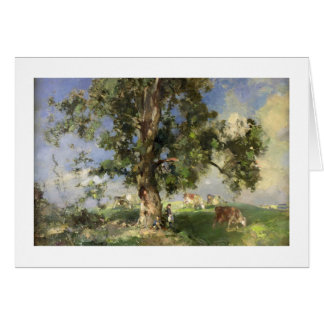 The Old Ash Tree (oil on canvas) Cards