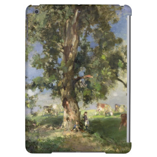 The Old Ash Tree (oil on canvas) Cover For iPad Air