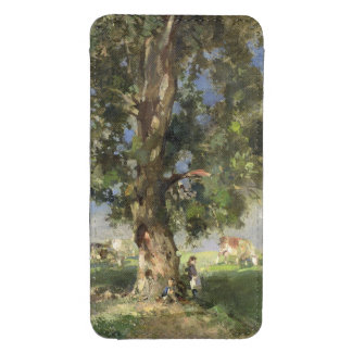 The Old Ash Tree (oil on canvas) Galaxy S4 Pouch