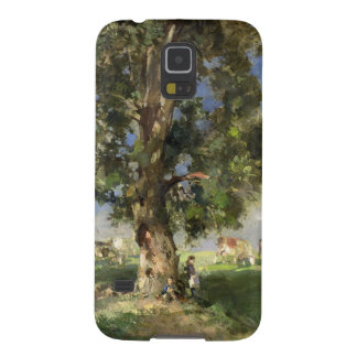 The Old Ash Tree (oil on canvas) Galaxy S5 Cover