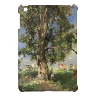 The Old Ash Tree (oil on canvas) iPad Mini Covers