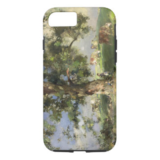 The Old Ash Tree (oil on canvas) iPhone 7 Case