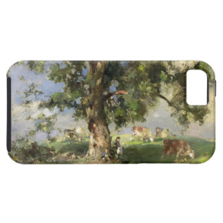 The Old Ash Tree (oil on canvas) iPhone SE/5/5s Case