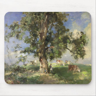 The Old Ash Tree (oil on canvas) Mouse Pad