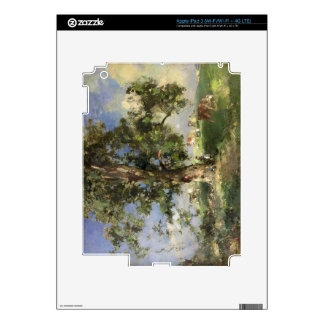 The Old Ash Tree (oil on canvas) Skins For iPad 3